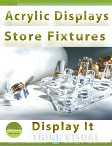 Rod Peg for Slatwall - Display It Book Displays, Window Displays, Display Boxes, Sculpture Stand, Cosmetic Display, Bottle Display, Ceiling Hanging, Easels, Store Interiors