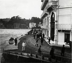 Tokatliyan Hotel in Tarabya, Istanbul Old Pictures, Old Photos, Istanbul Pictures, Middle East Culture, Turkish People, Ottoman Empire, Historical Pictures, Istanbul Turkey, Old City