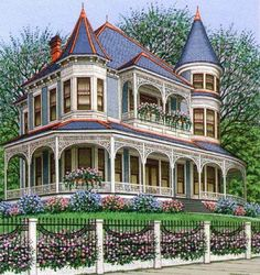 Sue Well --- This lady does great drawings of architecture, and does super designs.