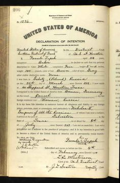 Favule Tapek Age: 24 Birth Date: 25 Mar 1889 Birth Place: Esbitz, Russia Record Date: 4 Feb 1914 Court District: Southern District of TX Court Place: Houston, TX  USA Record Type: Declaration of Intention Declaration #1236 http://sharing.ancestry.com/4241402?h=a0713e&utm_campaign=bandido-webparts&utm_source=post-share-modal&utm_medium=share-url
