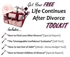 How do you get over a divorce?  Use this FREE toolkit to help.