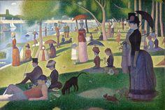 A Sunday on La Grande Jatte, Georges Seurat, 1884.