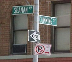 Seaman Ave. and Cumming St.
