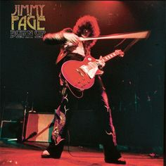 Jimmy Page - Burn Up Limited Edition Colored Vinyl LP