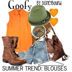 Goofy disney-bound