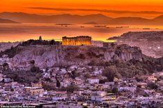 Η επική φωτογραφία της Ακρόπολης την ώρα του ηλιοβασιλέματος -Ξεχωρίζει σε διεθνή διαγωνισμό   INBOX Epic Photos, Cool Photos, Beautiful Pictures, Aerial Images, Photo Awards, Photo Competition, Picture Postcards, Ancient Greece, Beautiful Sunset