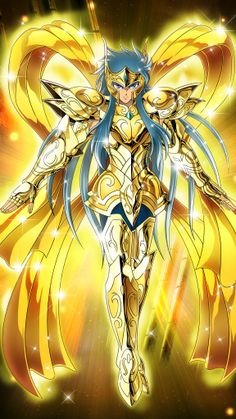Aquarius Camus(God Cloth)-Saint Seiya-Zodiac Brave by FernanDohko