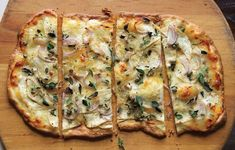 Pizza Bianca with Scamorza and Shaved Celery Root | 31 Exciting Pizza Flavors You Have To Try