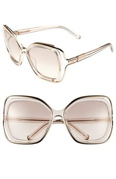 Chloé 56mm Sunglasses available at #Nordstrom love