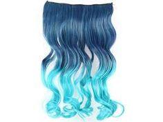 "24"" 60cm Rainbow Multiple colors Princess Hair Natural Hair Bulk Ribbon Ponytail Synthetic Middle Part Hair Tape Hair Extension ..."