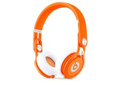 Beats Orange Mixr Headphones Beats By Dre By BEATS