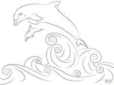 die 27 besten bilder zu delfin malen | delfin malen, delphine, delphin bilder