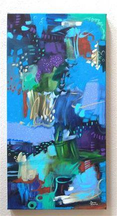 "Daily Paintworks - ""Secrets of the Sea"" - Original Fine Art for Sale - © Dana Marie"