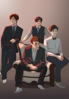 The Fantastic Foursome THIS IS BEYOND BEAUTIFUL I LOVE WHOEVER DREW THIS