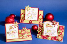 Kerstkaarten in een bijzondere vorm