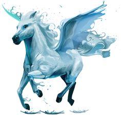 Atlantis, Pegasus Water element #44352034 - Howrse