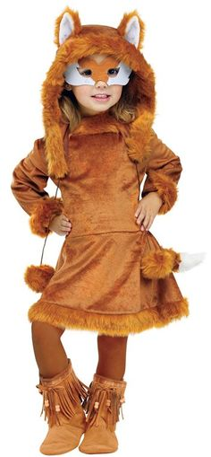 Awesome Costumes Sweet Fox Toddler Costume just added...