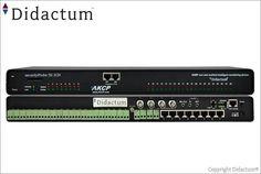 Das AKCP securityProbe5E-X20 (Art.Nr. 11038) Monitoring System bietet eine Kombination aus Umgebungsüberwachung, Spannungsüberwachung und Sicherheitsüberwachung gepaart mit leistungsstarker IP-Videoüberwachung.
