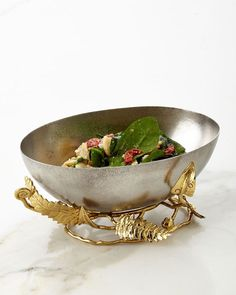 Shop Enchanted Garden Medium Bowl from Michael Aram at Horchow, where you'll find new lower shipping on hundreds of home furnishings and gifts. Elegant Home Decor, Elegant Homes, Kitchen Items, Kitchen Dining, Gold Home Accessories, Kitchen Accessories, Enchanted Garden, Silver Gifts, Metal Working