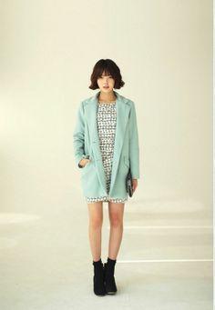 #coat #자켓 #dahong #best item #파스텔