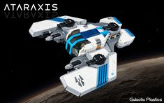 Ataraxis — BrickNerd - Your place for all things LEGO and the LEGO fan community Lego Spaceship, Spaceship Design, Cool Lego, Cool Toys, Awesome Lego, Meme Design, Lego Knights, Space Engineers, Lego Ship