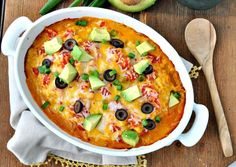 We aren't waiting for Tuesday to make this taco casserole. Get the recipe from The Seasoned Mom.   - Delish.com