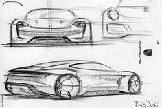 Porsche-Mission-E-Concept-Sketch-by-Emiel-Burki