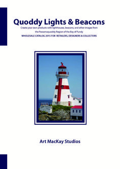WHOLESALE CATALOG: Quoddy Lights & Beacons - Free Download
