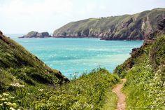 Beach on Sark, Channel Islands