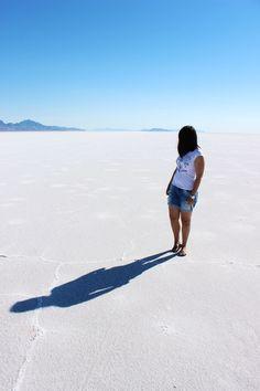 Bonneville Salt Flats / www.livinupanotch.com Road Trip, Salt, Summer, Travel, Summer Time, Viajes, Road Trips, Salts, Destinations