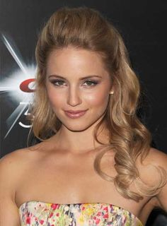 Google Image Result for http://images.beautyriot.com/photos/dianna-agron-long-curly-half-updo-romantic.jpg