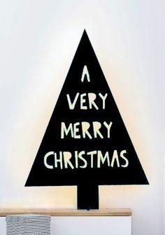 Weihnachtsbaum schwarz - Xmas tree black