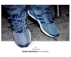 adidas ZX Flux Woven: Blue