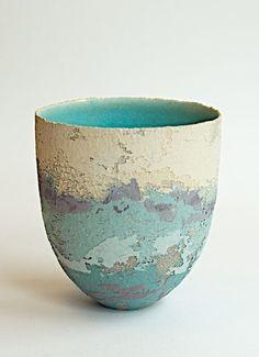 Clare Conrad, turquoise stoneware ceramic