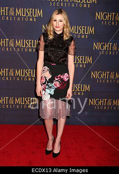 Actress LAURA CARMICHAEL attends the New York premiere of 'Night at the Museum: Secret of The Tomb' held at the Ziegfeld Theater, New York, USA.11th December 2014 © ZUMA Press, Inc. / Alamy
