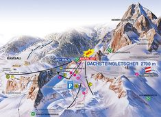 A Dachstein Gleccser - Magyarországhoz legközelebb eső gleccsersíterep: ahol jégpalota, kilátó, snowpark, sífutó- és lesiklópályák várnak. Hallstatt, Mount Everest, Skiing, Desktop Screenshot, Italy, Mountains, Places, Nature, Travel