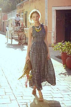 #Shibori #Maxi #Dress #Anthropologie