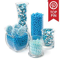 Blue - Baby Shower Candy Buffet Kit