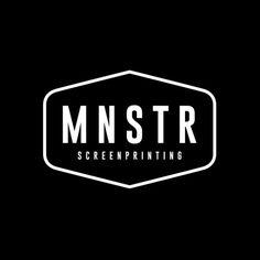Sometimes I do straight up branding like this one for my man Sam at @monstar_screenprinting Clean and crisp just like his printing! No illustration or skulls insight. Haha. #kieltillmanart #logo #branding #design #graphic #blackandwhite #monstarsctreenprinting #mnstr #screenprinting #brand