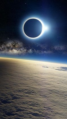 Eclipses From Space...