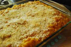 Butternut squash mac & cheese ~ Delicious!!  I love getting Joe to try things he never would normally, and he loved this recipe :)