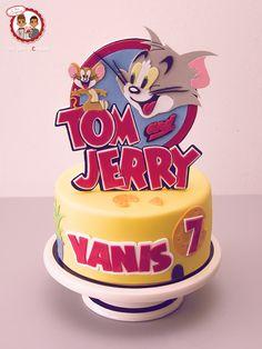Tom & Jerry cake - Gâteau Tom et Jerry - Un Jeu d'Enfant Cake Design Nantes France