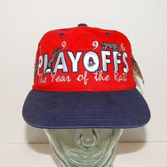 NWT Florida Panthers 1996 Playoffs Snapback Hat The Year of the Rat Embroidered  #FloridaPanthers