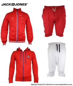 Jack & Jones | Danish Olympic Team Inspired Collection at Hype Direct.