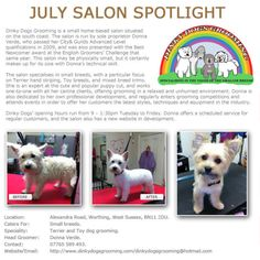 Salon Spotlight July 2013, Dinky Dogs Grooming