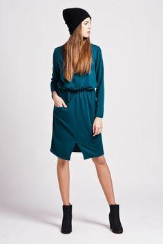 Kleider - Dress Suk109 - ein Designerstück von Lanti-polish-urban-fashion bei DaWanda
