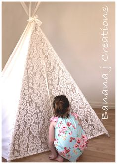 lace tee pee {banana j creations}.