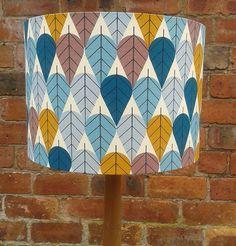 Charley Harper  Leaves  Fabric covered by Lightflightlighting, £15.00