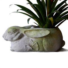 Rabbit Planter - Orlandi Statuary - Online Wholesale Catalog for Beautiful Orlandi Statuary