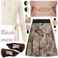 How To Wear OOTD Cashmere Outfit Idea 2017 - Fashion Trends Ready To Wear For Plus Size, Curvy Women Over 20, 30, 40, 50